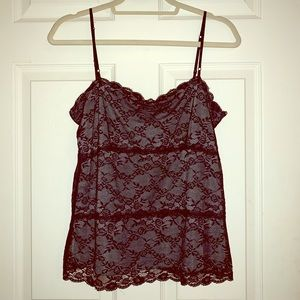 The Limited Lace Overlay Cami